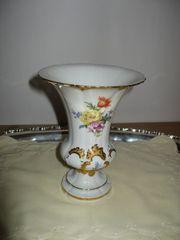 Porzellan Vase aus der Manufaktur
