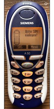 Siemens A50 Handy gebraucht mit