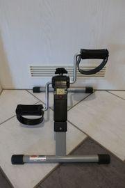 Faltbarer Mini Heimtrainer Arm und