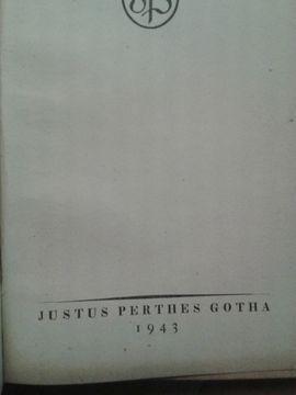 Taschenatlas von Justus Perthes: Kleinanzeigen aus Schwabach - Rubrik Fach- und Sachliteratur