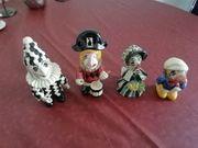 4 Original handgefertigte Basler Faschingsfiguren