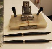 Füller mit halter