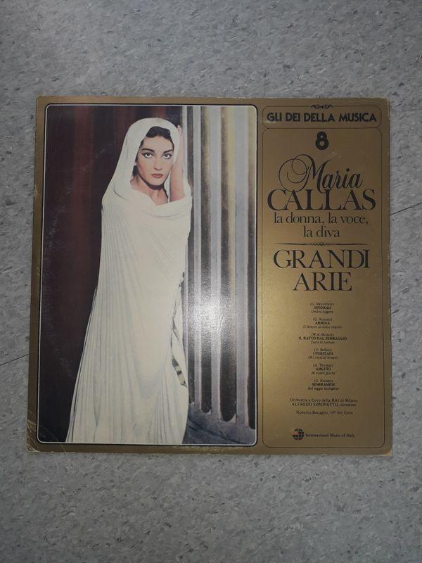 Maria Callas 8 LP Grandi