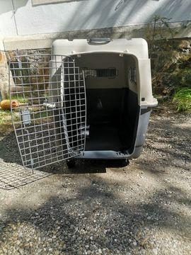 Hundebox Kennel Transportbox Hunde Flugbox Groß L XL