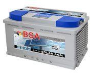 BSA Solar Batterie AGM 100Ah