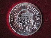 25 Euro Gedenkmünze 25 Jahre