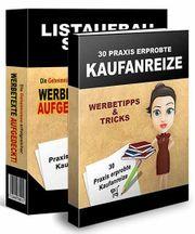 30 praxiserprobte Kaufanreize Listenaufbau-Software