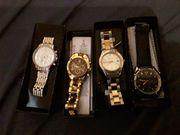 Vier schöne Uhren