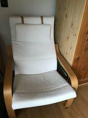Gemütlicher Sessel IKEA POÄNG