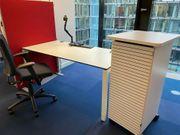 Arbeitsplätze Schreibtischset v Bene Schärf