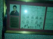 Elvis Presley Fingerabdrücke