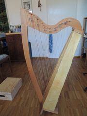 Verkaufe Gosewinkel Harfe 27 Saiten