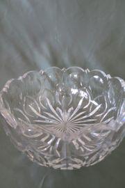 Sehr edle Kristall-Schale aus Belgien