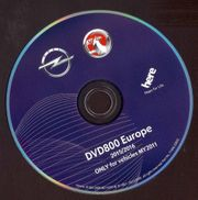 Navigation DVD 800 Europe 15