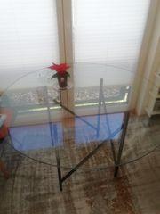 GLASTISCH-DESIGN RUND 120cm