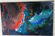 Acrylpouring 125x75 cm