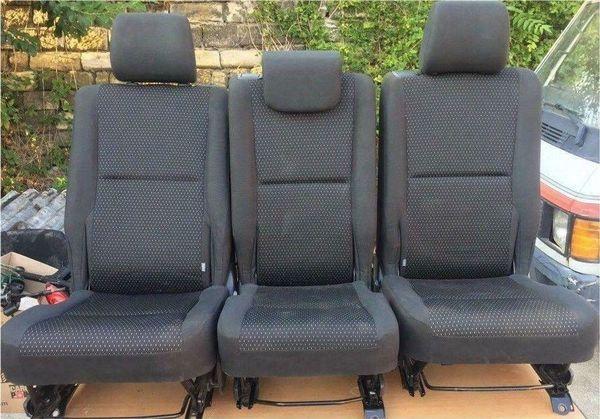 Toyota Corolla Verso 2009 Sitze