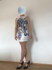 Tolles italienisches Minikleid Gr 36