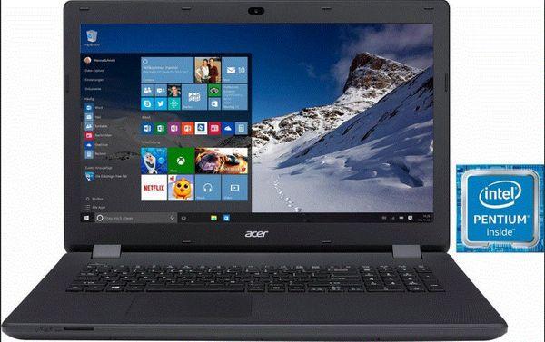 Laptop 17 High Perform i7
