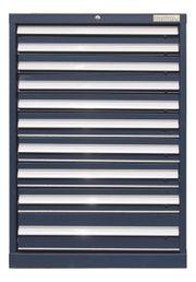 Werkzeugschrank Schubladenschrank 10 Schubladen blau