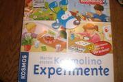 Gesellschaftsspiele Experimentenkoffer