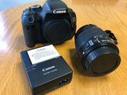 Canon EOS 600D top