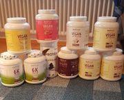 Protein Pulver original verpackt Fitness