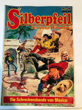 Comics, Science fiction, Fantasy, Abenteuer, Krimis, Western - Silberpfeil Comics