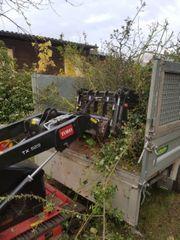 Hecken entfernen Hecke Grundstücksrodung Rodung