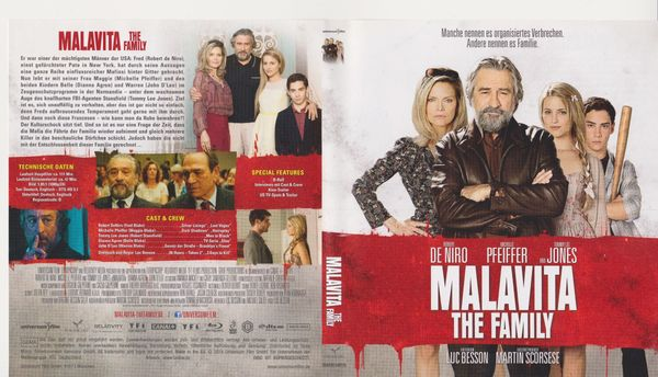 Blue-Ray Malavita - The Family 2014