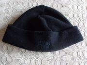 Mütze Fleecemütze schwarz für Damen