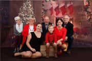 Weihnachtliches Foto-Shooting für Familien in