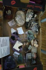 Mineralienen Steine Edelsteine