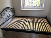 140cm breites Bett mit verstellbarem