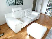 Echt Leder Sofa Wie neu
