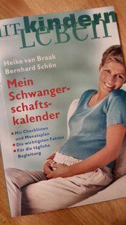 Buch Mein Schwangerschaftskalender