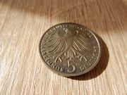 5 DM Münze Gedenkmünze 1983