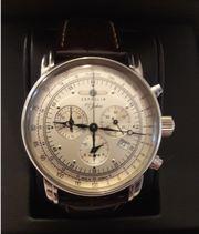 Zeppelin Chronograph 7680-1 mit Originalzubehör