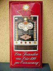 Email - Spielautomaten Werbeschild