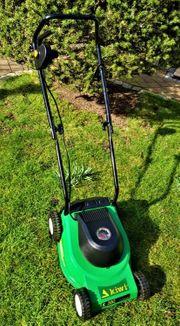 Rasenmäher elektrisch 35 cm gepflegt