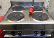 Gastro Elektro Herd 4 Platten