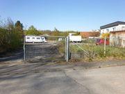 Stellplatz für Boot PKW LKW