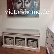 Sitzbank mit Stauraum Garderobenbank Küchenbank