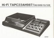 Kompakt-Stereoanlage Philips 22AH987