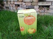 naturtrüben Apfelsaft oder Mischsaft in