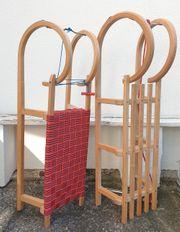 Holz Rodel Schlitten