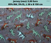 Jerseystoff Dinos