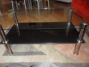 Top Glastisch mit Metallfüssen