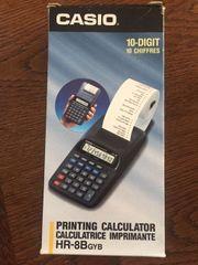 Rechenmaschine Casio Printing Calculator