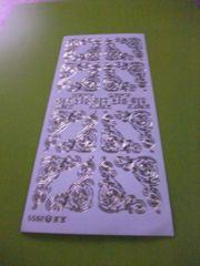 Gravur Sticker Ecken je 0